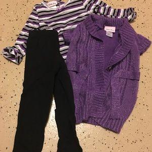 Girl sweater set
